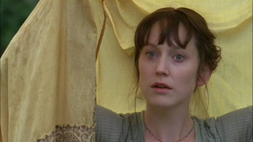 Elinor contemplates Edward (Photo Credit: BBC). Women in Literature.