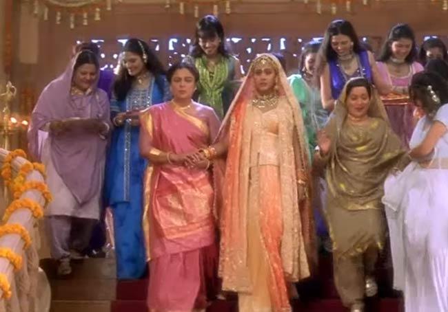 Kuch Kuch Hota Hai. Photo;: Dharma Productions, Yash Raj Films; bollywood films