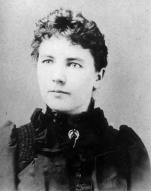Young Laura Ingalls Wilder. Photo in the Public Domain. Women in Literature.