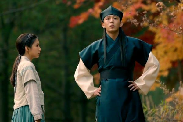 Yi Bang-Won and Boon-Yi. Photo: SBS