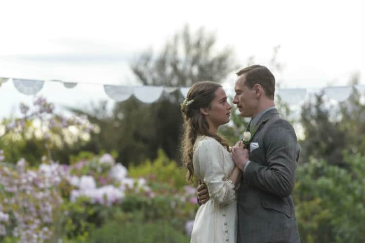 """Alicia Vikander and Michael Fassbender in a scene from """"The Light Between Oceans"""" 