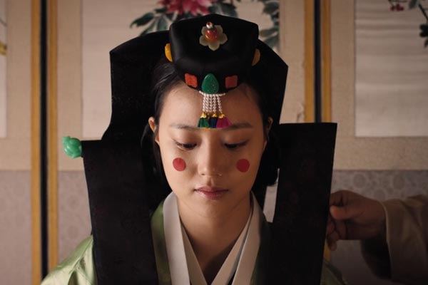 Ja-In in wedding clothes in War of the Arrows. Nine Sweeping Korean Period Dramas