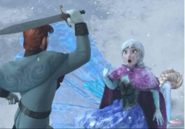 Anna Saves Elsa Photo: Disney
