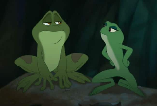 Frog-Tiana and Frog-Naveen Photo: Disney