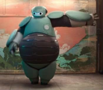 Baymax Gets a Suit Photo: Disney