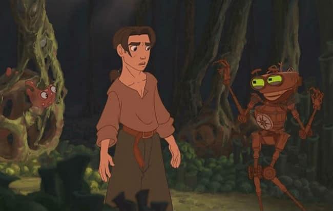 Jim, Ben, and Morph Photo: Disney