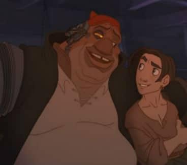 Jim and Silver Photo: Disney