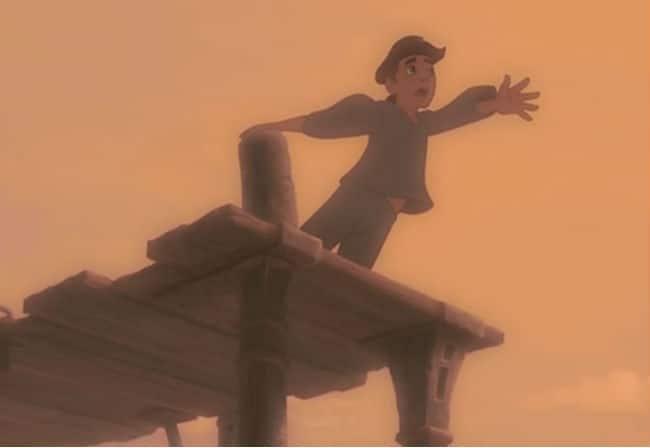 "From ""Jim's Theme,"" a flashback. Photo: Disney"