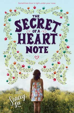 secret of a heart note book cover