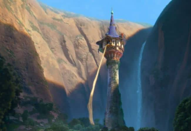 A Background from Tangled Photo: Disney