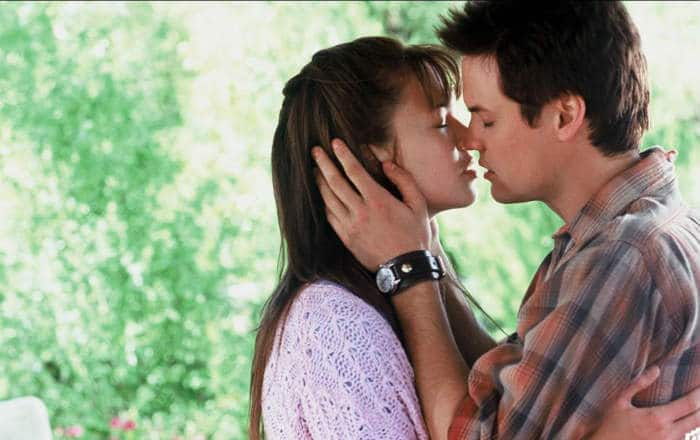 "Mandy Moore and Shane West in ""A Walk to Remember"" 