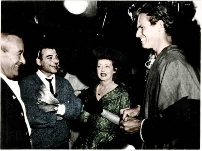 William Wyler Johnny Bette Davis Chuck Heston