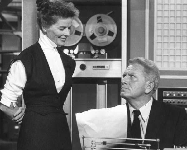 Katharine as Bunny Watson and Spencer Tracy as Richard Summer Photo Credit: 20th Century Fox