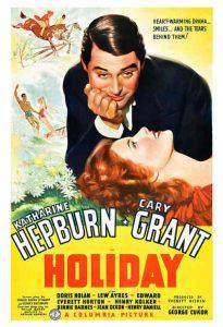holiday poster Katharine Hepburn