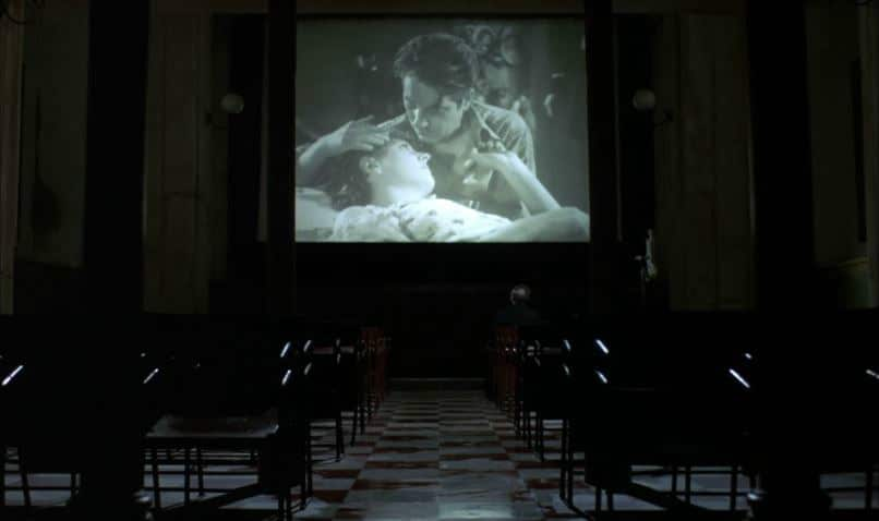 Cinema Paradiso kiss