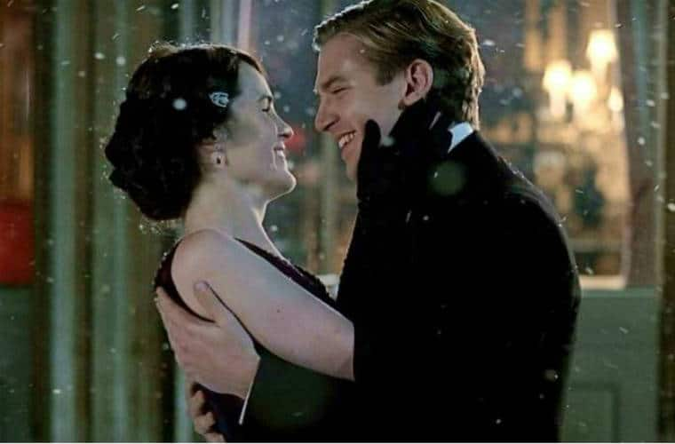 Mary and Matthew in Downton Abbey