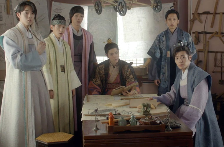 "The new idol boy band ""Goryeo's Princes"""