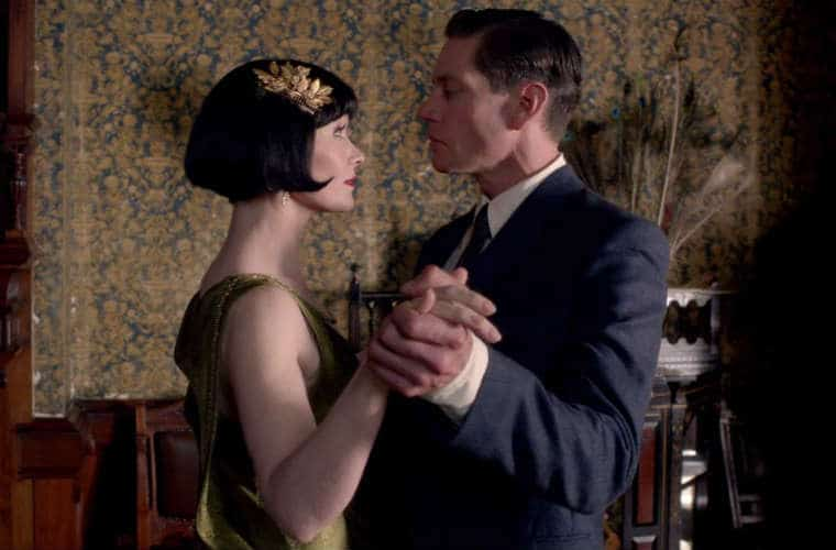 Jack and Miss Fisher Slow-burn romance