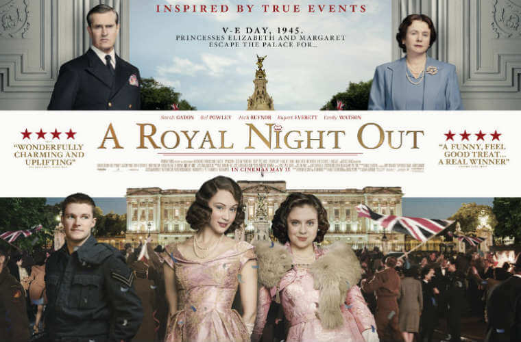 A Royal Night Out Review – A Romantic Period Drama About Elizabeth II 'Roman Holiday' Style