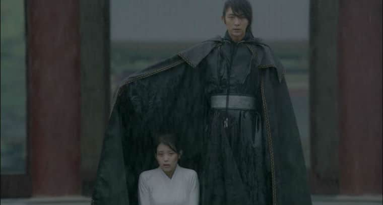 4th Prince and Hae-Soo Romantic Moment