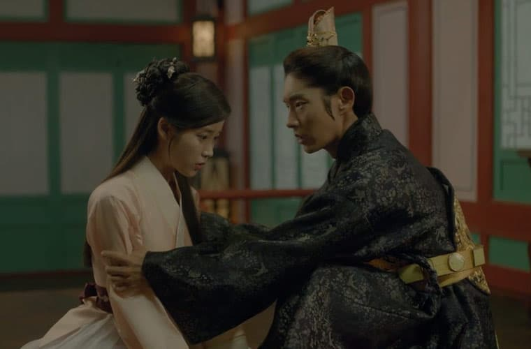 hae soo and 4th prince in scarlet heart ryeo