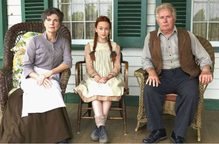 Anne of Green Gables starring Martin Sheen - promo image