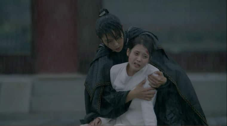 4th Prince and Hae-Soo Romantic Moment
