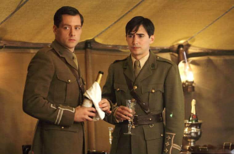 Captain Thomas Gillan and Captain Miles
