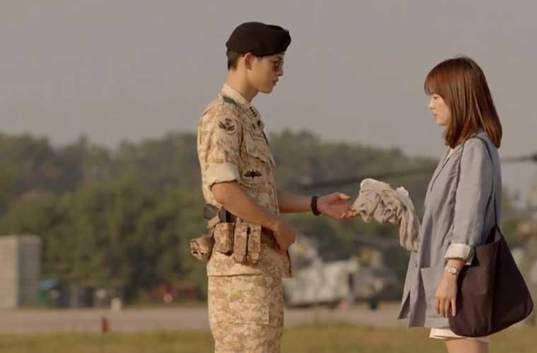 Descendants of the Sun.