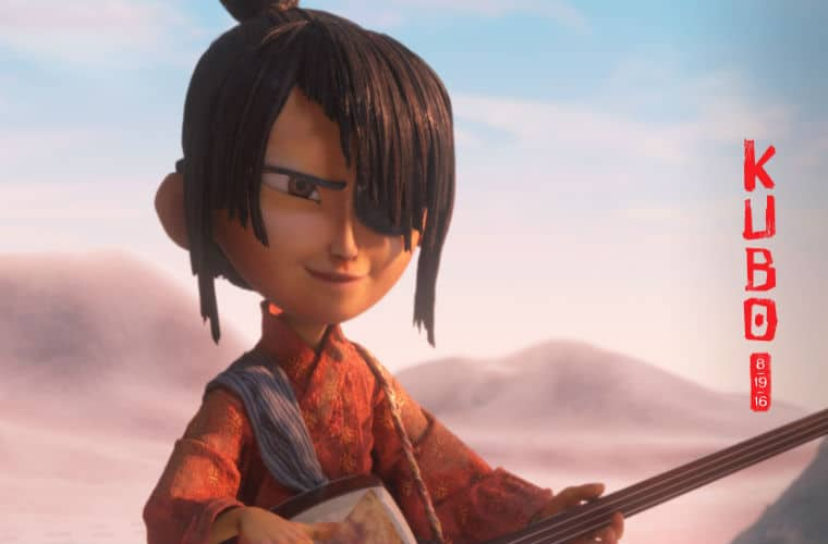 Our hero Kubo with his shamisen
