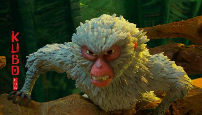 Monkey is Kubo's fierce no nonsense guard
