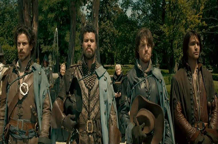Musketeers on guard
