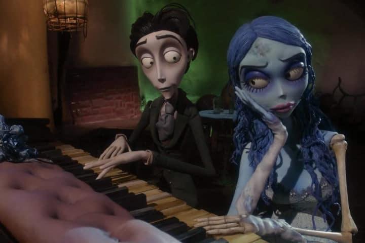 Corpse Bride Piano Duet Scene