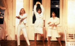 The First Wives Club; dance scenes in film
