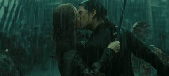 Pirates At World's End Romance in the Rain