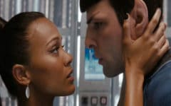 Spock and Uhura -