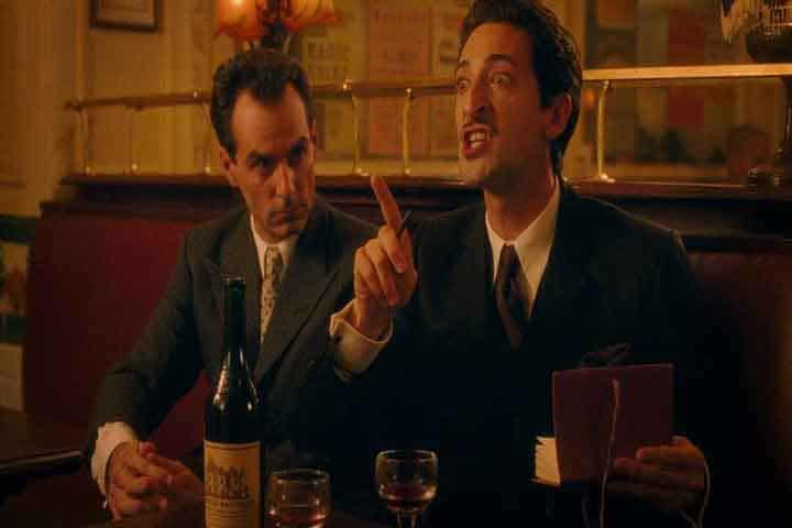 Brody as Dali in Midnight in Paris