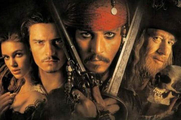 Pirates of the Caribbean movies; 12 of the Best Romantic Period Drama Movies on Disney+ to Watch
