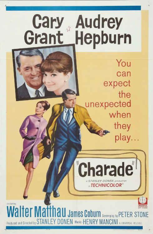 Charade - Audrey Hepburn & Cary Grant