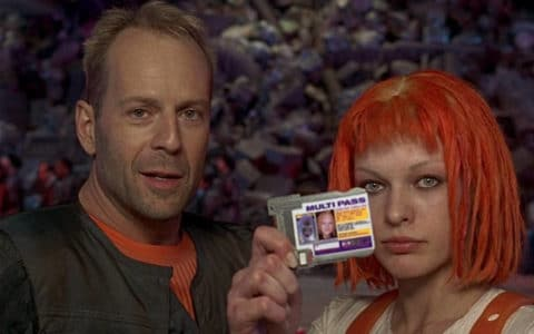Leeloo and Korben Multipass