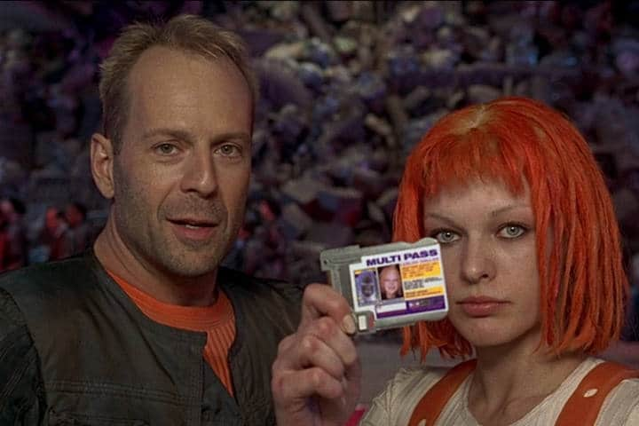 "Classic Romantic Moment of the Week: The Fifth Element's Leeloo and Korben Dallas – ""Love is Worth Saving"""