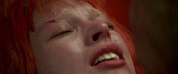 Leeloo Korben Happy Tears