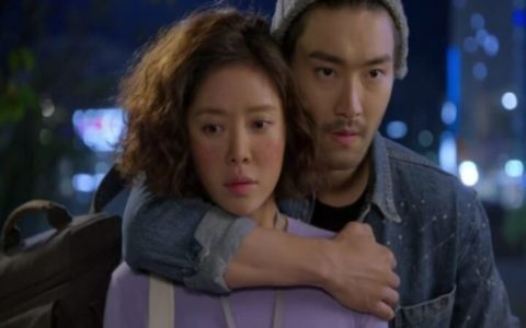 Choi Si-Won, She Was Pretty, Korean Drama, backhug