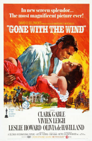 Gone With the Wind Film Review (1939) - The Beloved Romantic Southern Epic   The Silver Petticoat Review