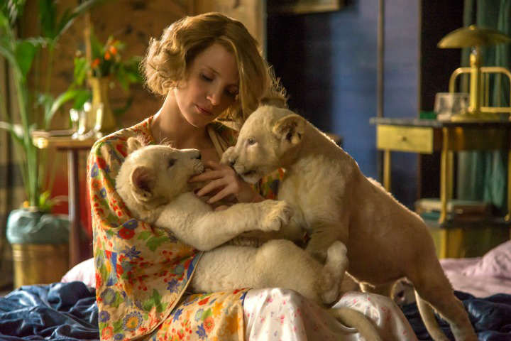 The Zookeeper's Wife (2017) Film Review – WWII Biopic about Resilience in the Face of Adversity