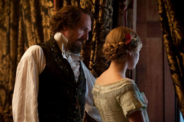 Invisible Woman Ralph Fiennes and Felicity Jones