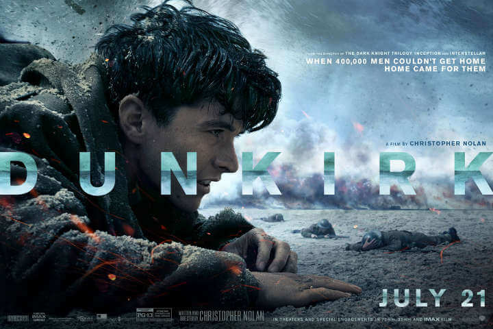 Dunkirk (2017): A Study in Desperation, Exhaustion and Scurrying Survival