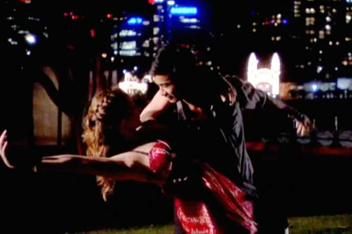 """The First Dance   Christian and Tara twirl under the starlight in """"Dance Academy"""""""