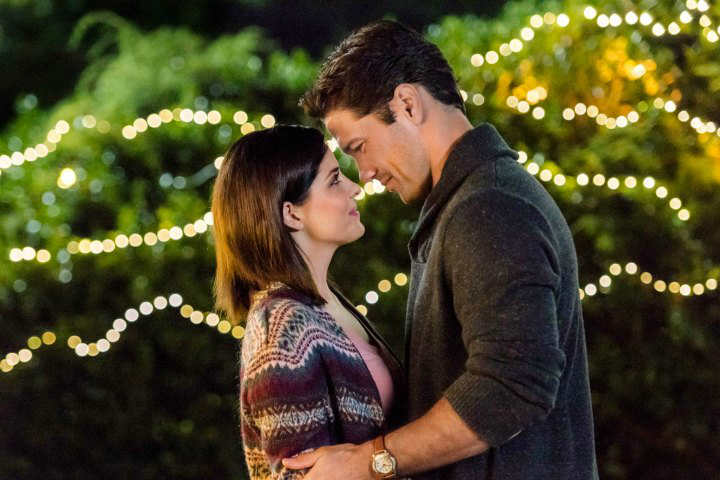 "Hallmark Channel's Fall Harvest | Jen Lilley and Ryan Paevey fall in love in ""Harvest Love."""