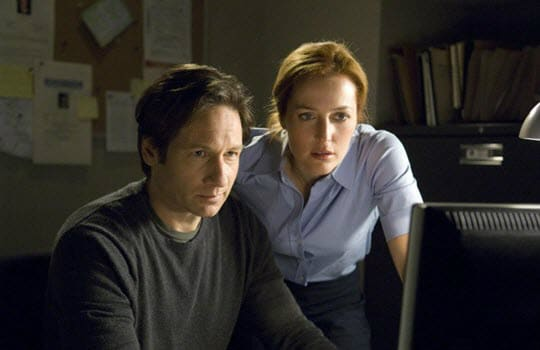 The X-Files Series Heroes Mulder and Scully